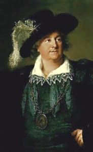 Élisabeth Vigée-Lebrun Portret w kostiumie Henryka IV. (źródło: Muzeum Narodowe w Warszawie)