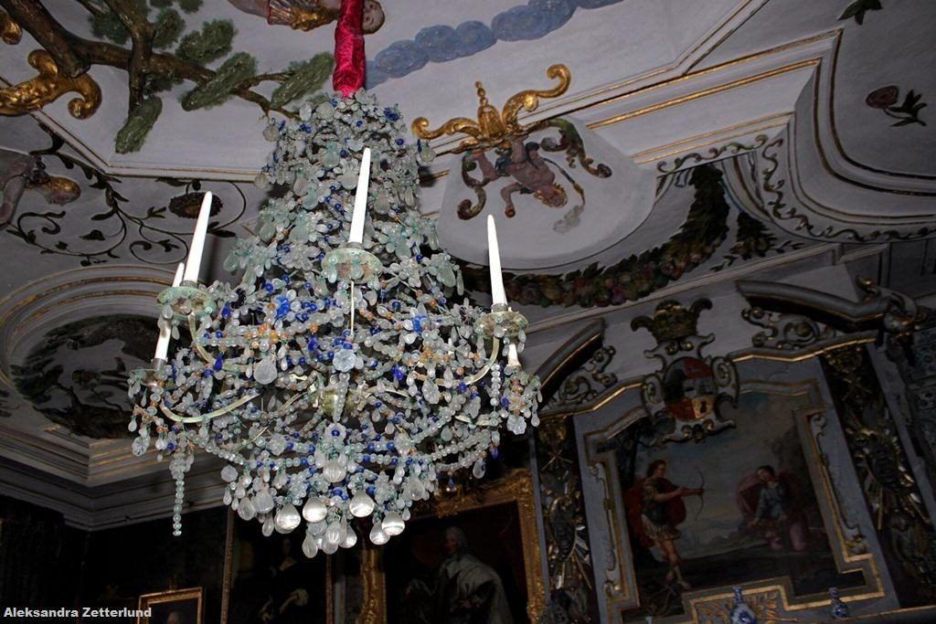 Pałac Skokloster, najstarszy na świecie żyrandol szklany