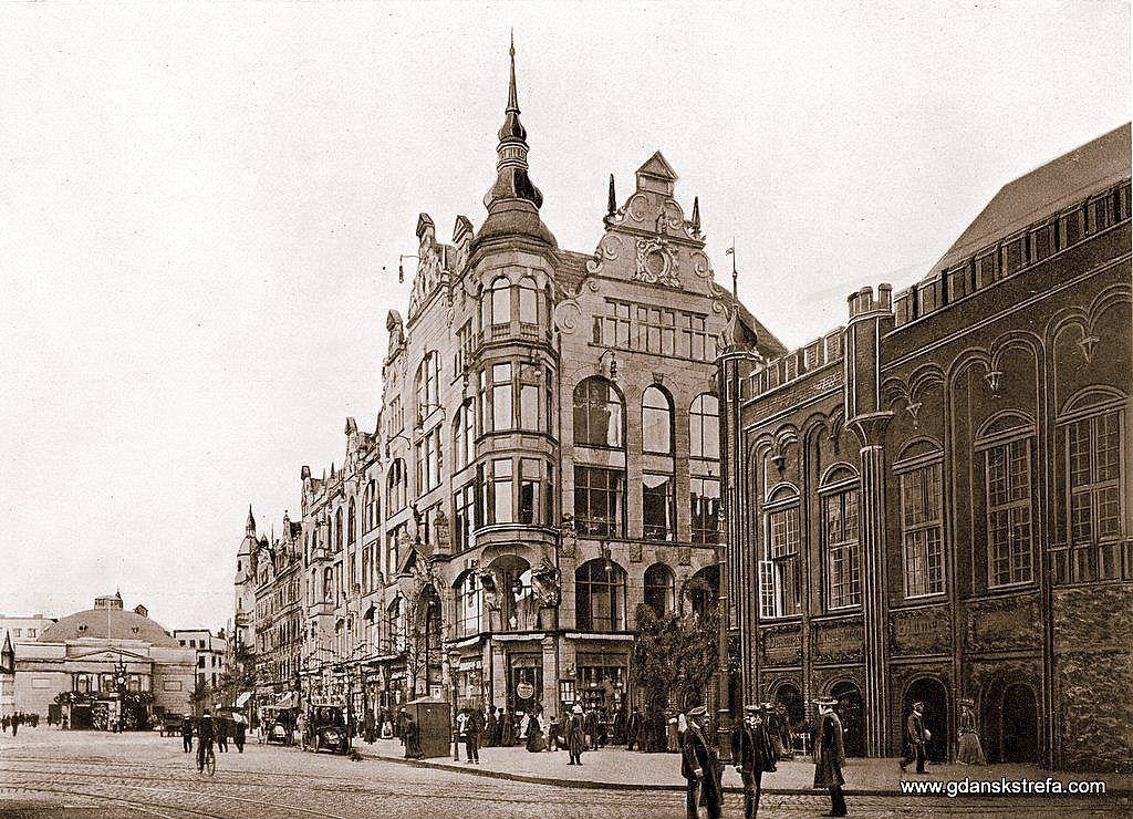 Dom Towarowy Freymannów. Zbudowany w latach 1902–1903