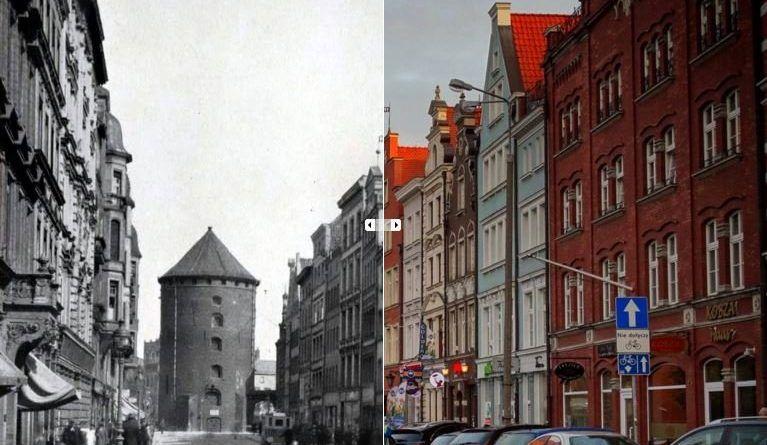 Ulica Stągiewna 1920-2015