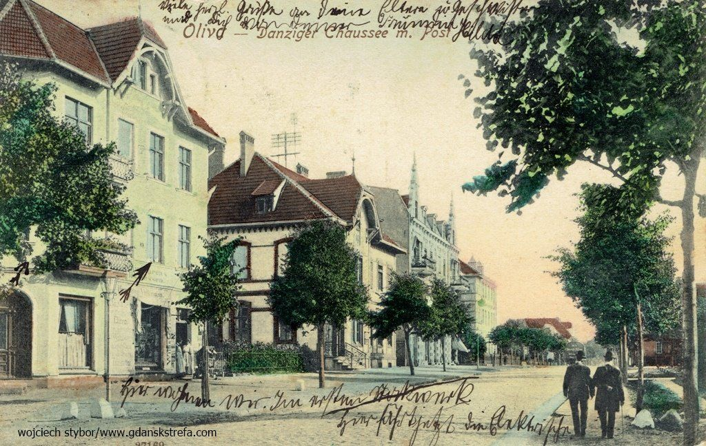 Danziger Chaussee - ulica Grunwaldzka
