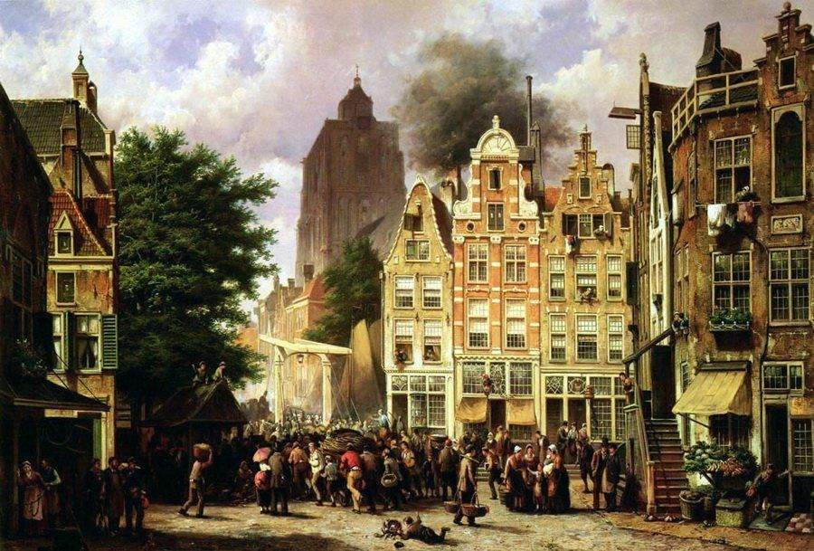 Rotterdam - Willem Koekkoek