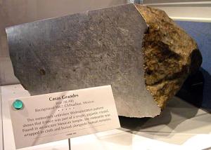 Meteoryt Casas Grandes odnaleziony w starożytnej świątyni w Meksyku w 1867 roku