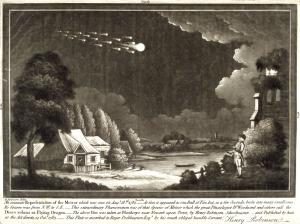 Jasny bolid obserwowany w Anglii 18 sierpnia 1783 roku