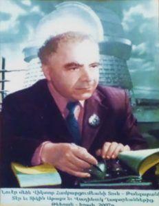 Portret prof. Wiktora Ambarcumiana