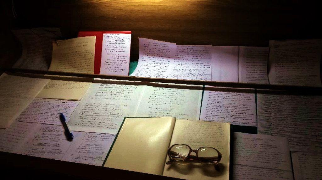 Listy i inne rękopisy Wiktora Ambarcumiana
