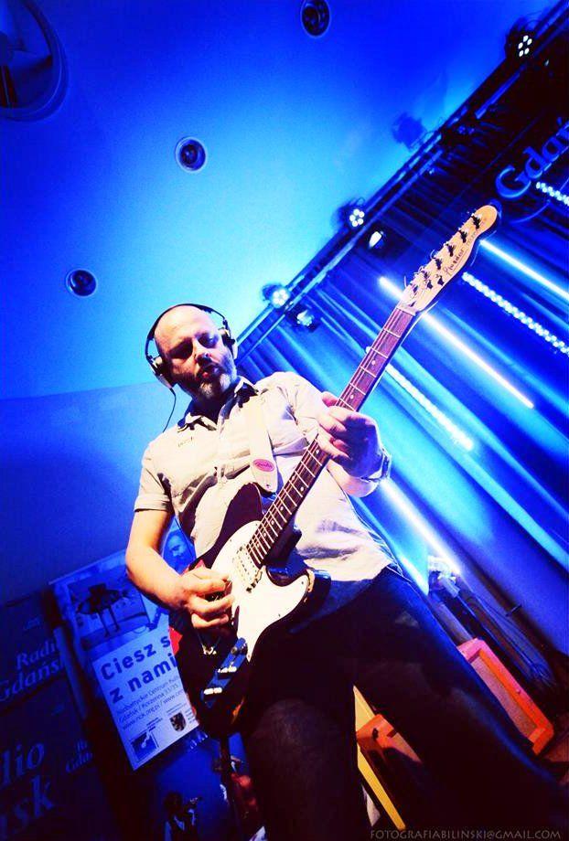 Michał Kusz w Radio Gdańsk.