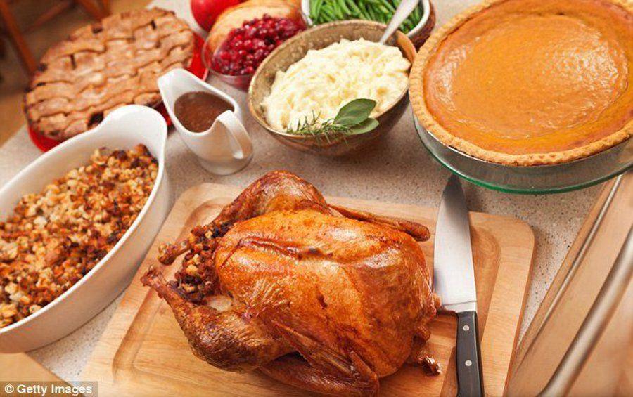 świąteczny amerykański obiad