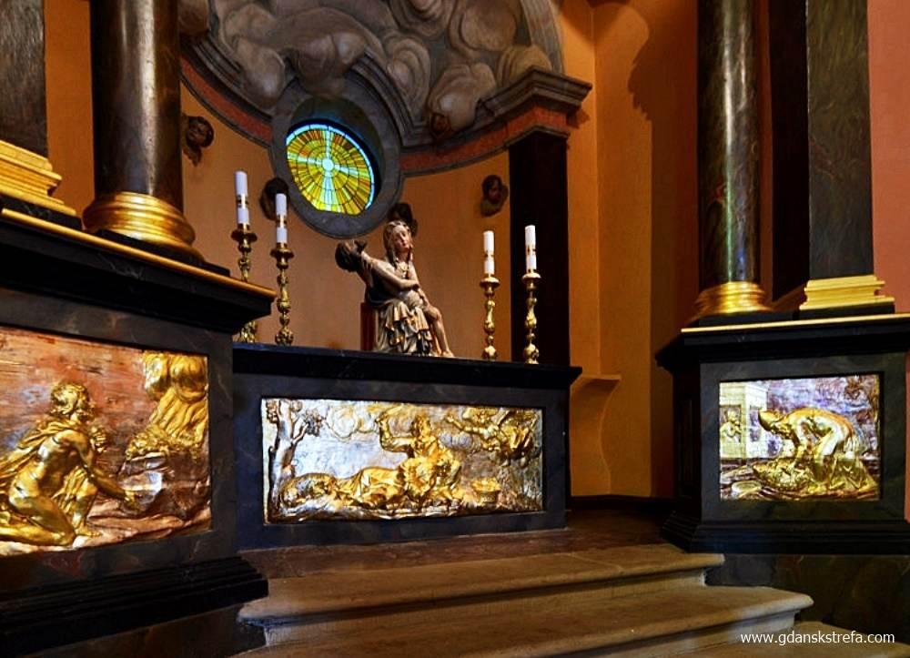 """kościół pw. św. Mikołaja; żródło: """"Piety pomorskie"""""""