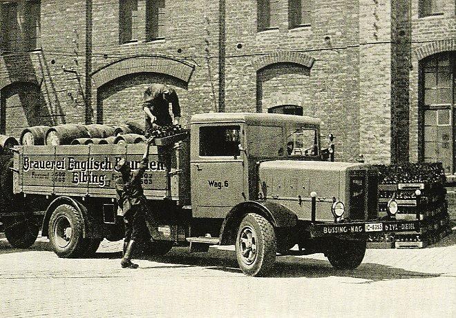 Tabor samochodowy Brauerei Englisch Brunnen Elbing, źródło: www.aefl.de