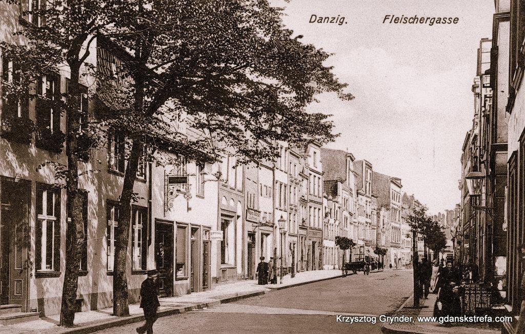 ulica Rzeźnicka (Fleischergasse)