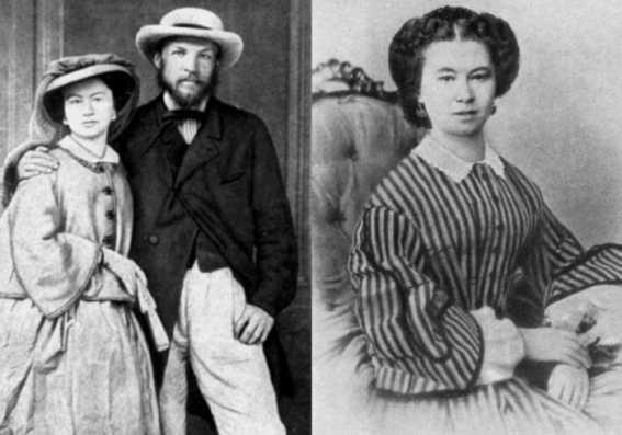 Mendelejew i pierwsza żona