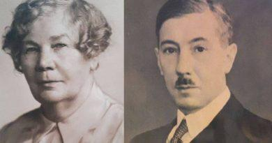 Grób matki Eugeniusza Kwiatkowskiego pod płot?