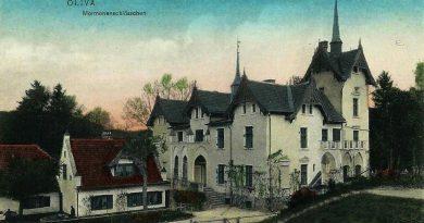 Stary dom  przy ul. Kwietnej w Oliwie