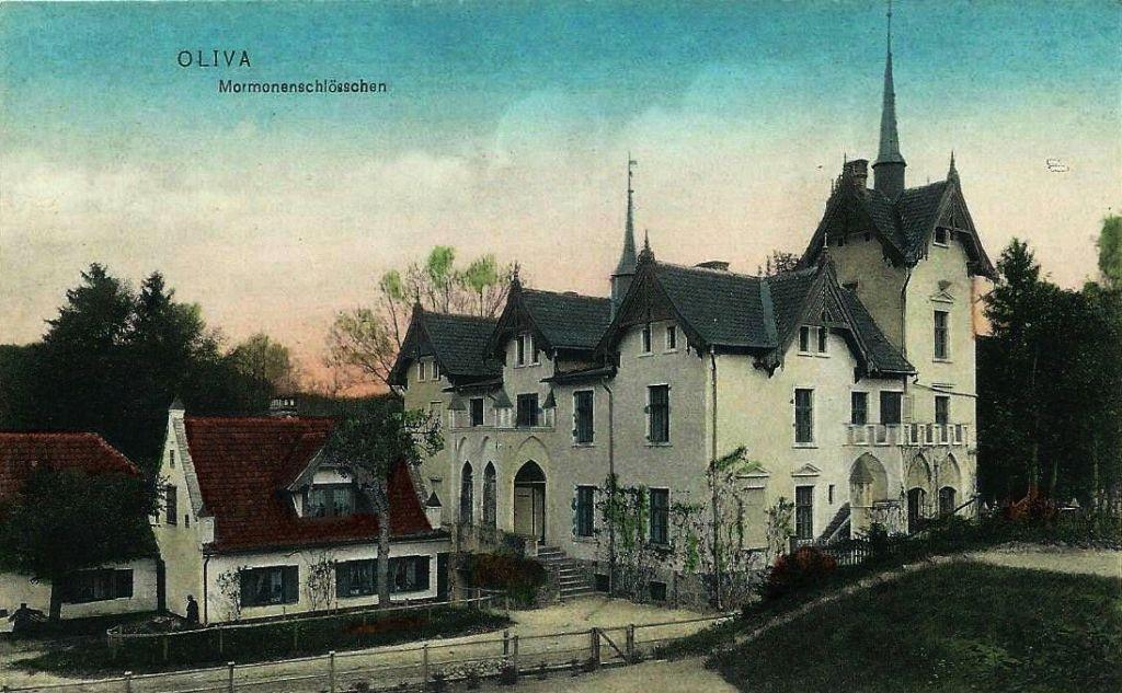 Zameczek Mormonów 1905 r.