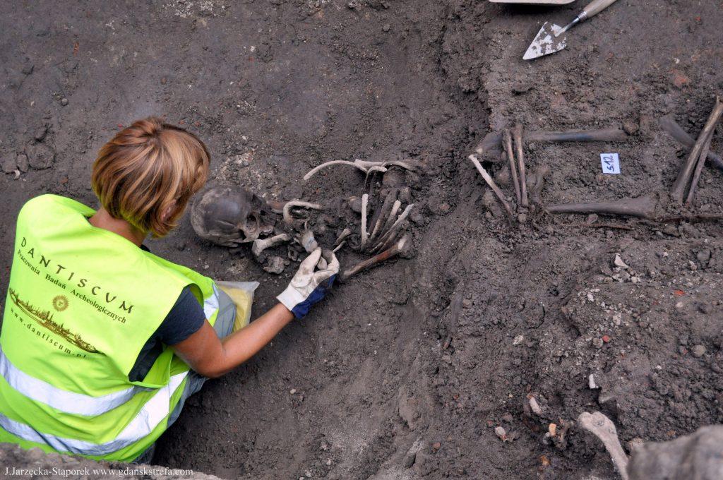 Prace archeologiczne przy kościele śś. Piotra i Pawła