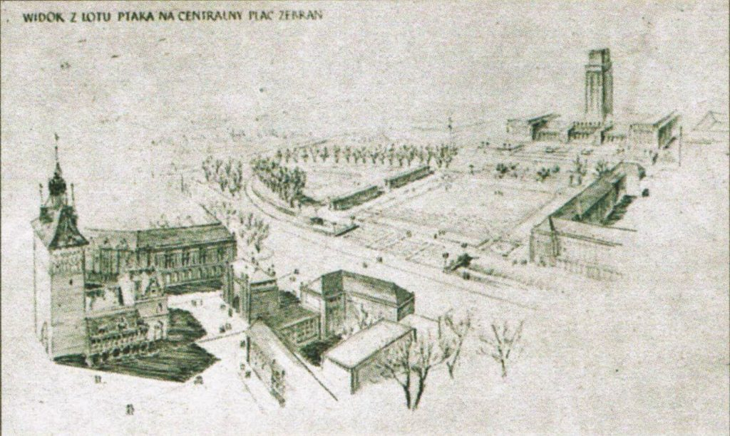 Projekt S. Holca, S. Listowskiego i Wł. Padewskiego, 1953 r.