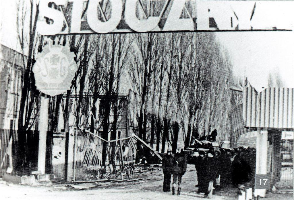 Topole i Brama nr 2 w dniu 16 grudnia 1981