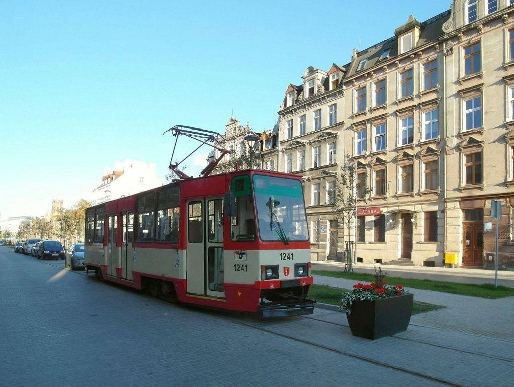 tramwaj na Łąkowej