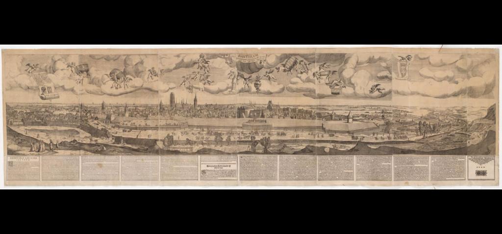 Panorama Gdańska 1617