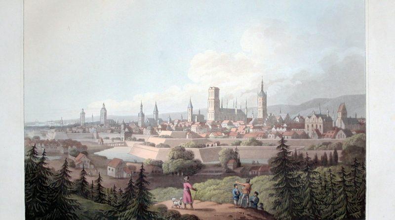 Panorama Gdańska 1800