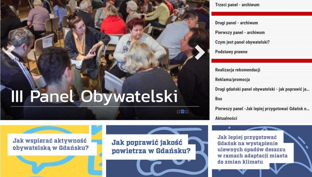 panel obywatelski www.gdansk.pl