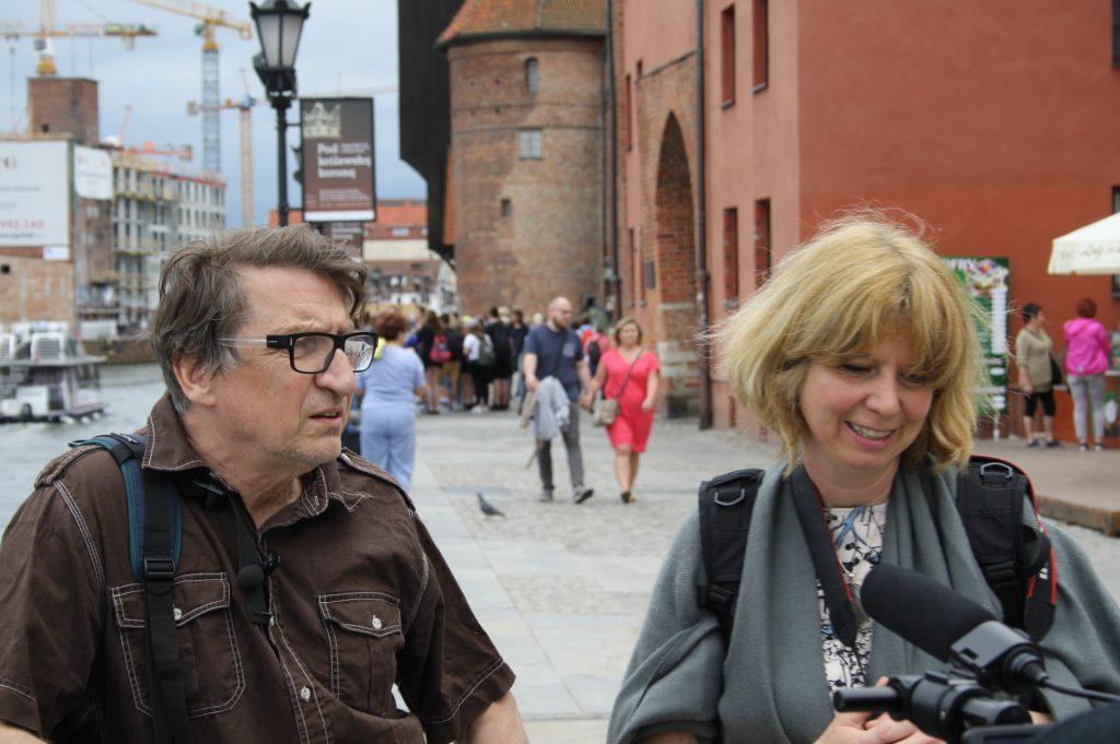 Grzegorz Klaman i Elena da Varda