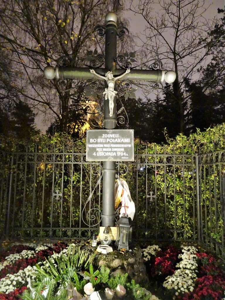 krzyż - rzeź Pragi