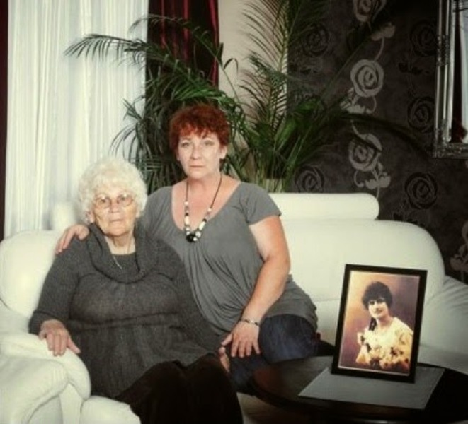 Córka i wnuczka Gorgonowej. Ewa Ilić (po lewej) i Margerita Ilić-Lisowska (po prawej).