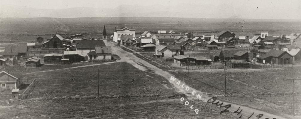 Panorama miasteczka Walden, 1903 r.