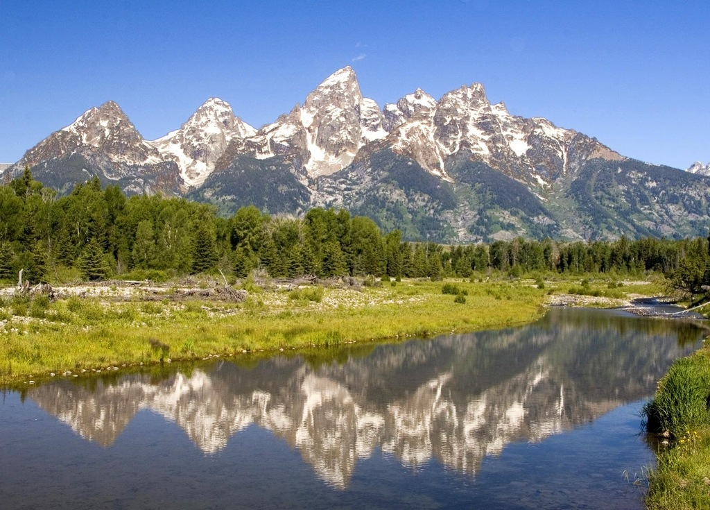 Góry Skaliste. North Park, Wyoming.