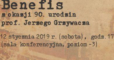 Benefis z okazji 90 urodzin prof. Jerzego Grzywacza