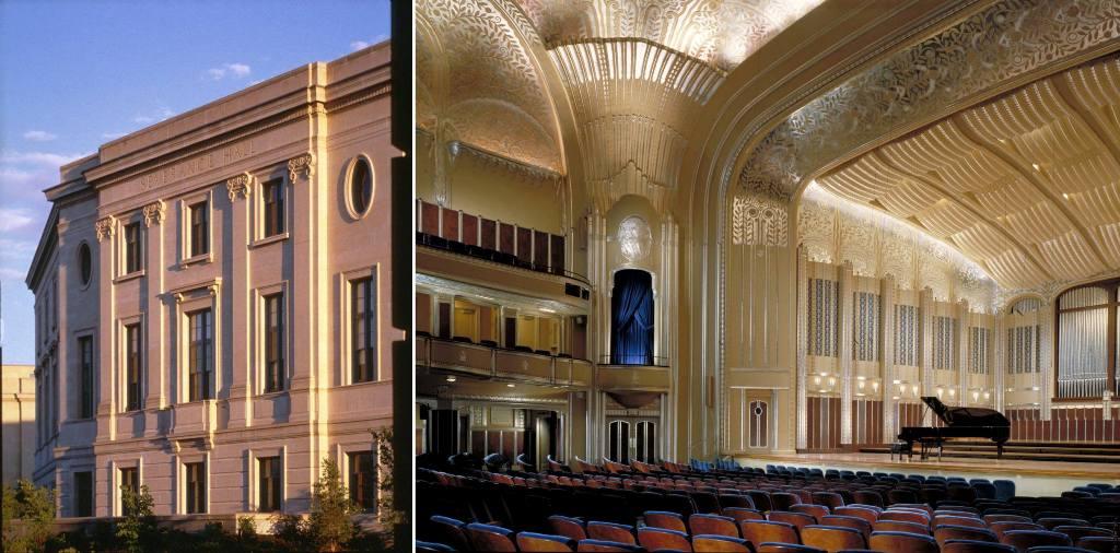 Severance Hall. Cleveland, Ohio.