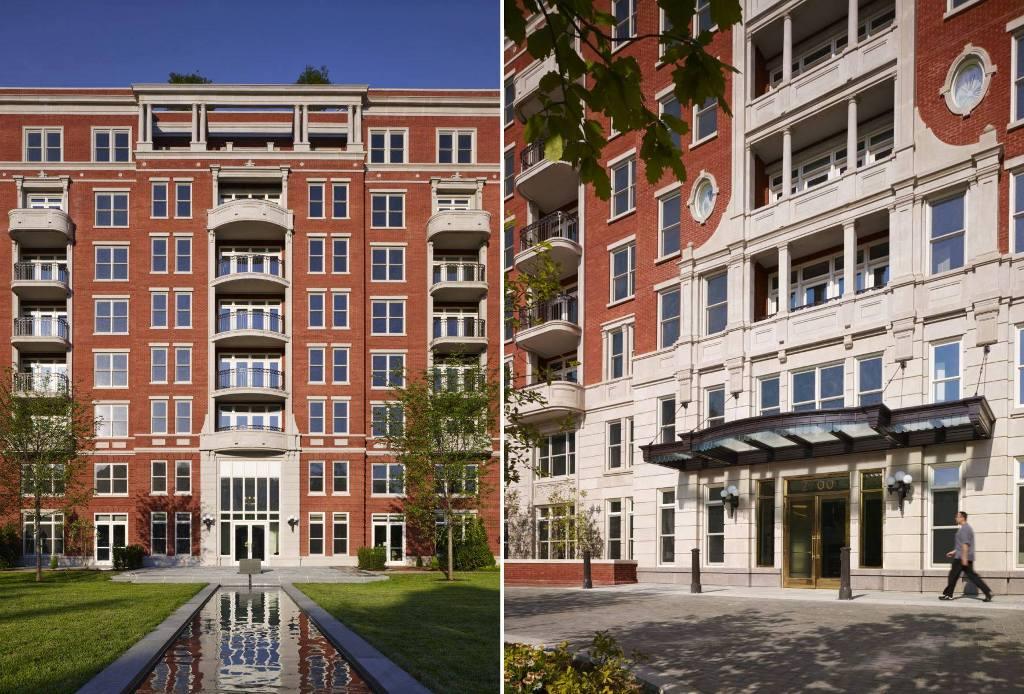 The Woodley Apartments. Waszyngton, DC.